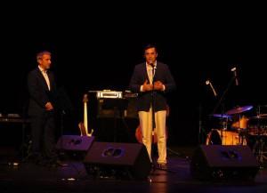 Koncert Bytom dla Bytomian - powitanie uczestników Zjazdu przez prezydenta miasta